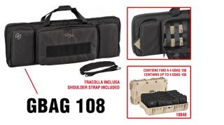 GBAG 108 PADDED GUN BAG FOR CASE 10840